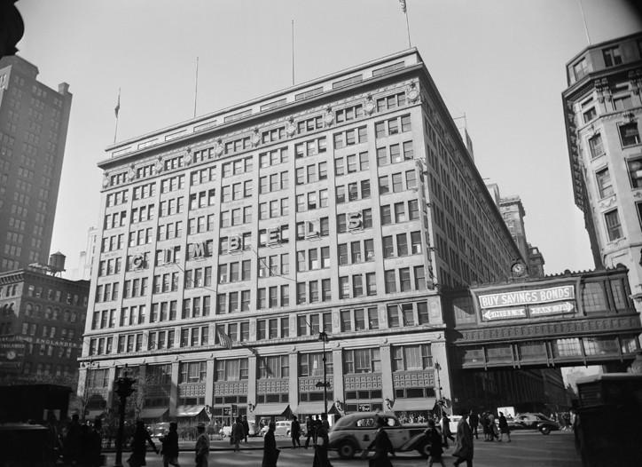 Gimbel's department store in New York.