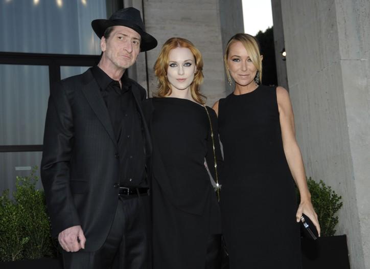 Frank Miller, Evan Rachel Wood and Frida Giannini.