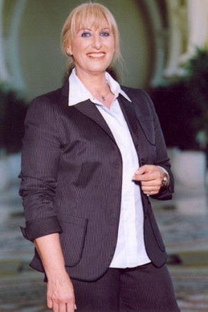 Nayla Hayek, the newly appointed chairman of the Swatch Group.