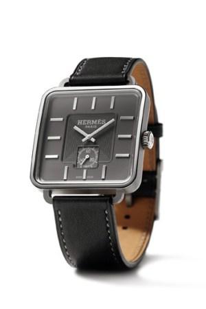 Hermès Carré H watch designed by Marc Berthier