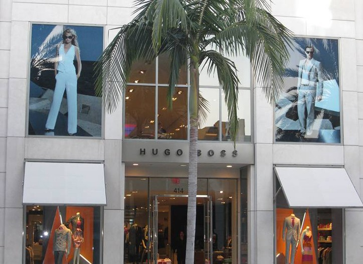 The brand plans to open five Boss by Hugo Boss doors this year.