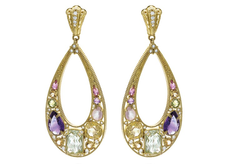 Judith Ripka earrings