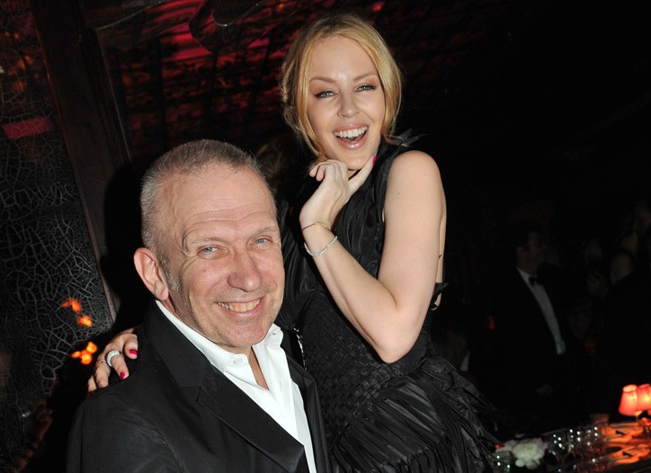 Kylie Minogue with Jean Paul Gaultier