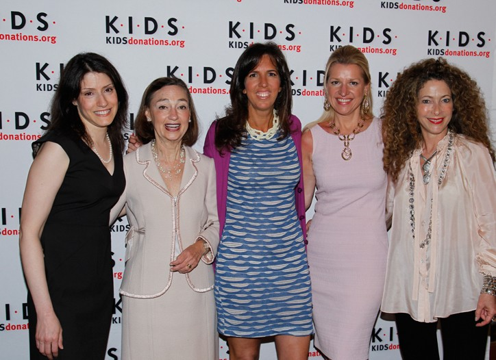 Christina Miller, Janice Weinman, Liz Lange, Mindy Grossman and Elyse Kroll.