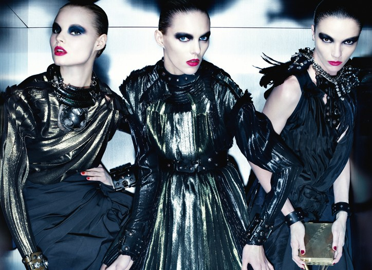 Lanvin women's advertising campaign for fall.