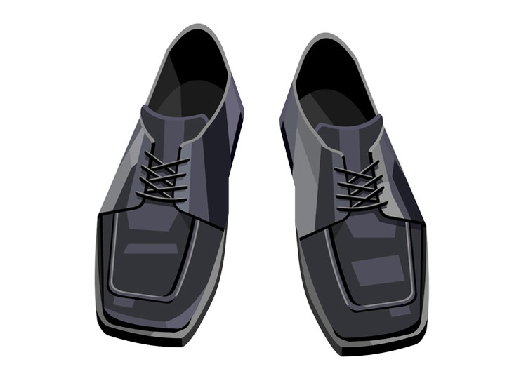 "John Varvatos: ""Square-toed shoes."""