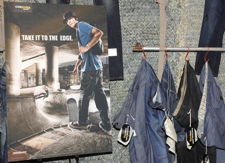 Invista's Cordura brand launched a new denim fabric at the show.