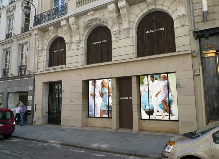 The Michael Kors unit will launch on Rue Saint-Honoré.