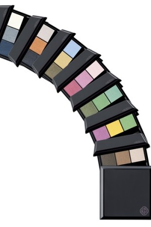 Shiseido's new eye color collection from artistic director Dick Page.