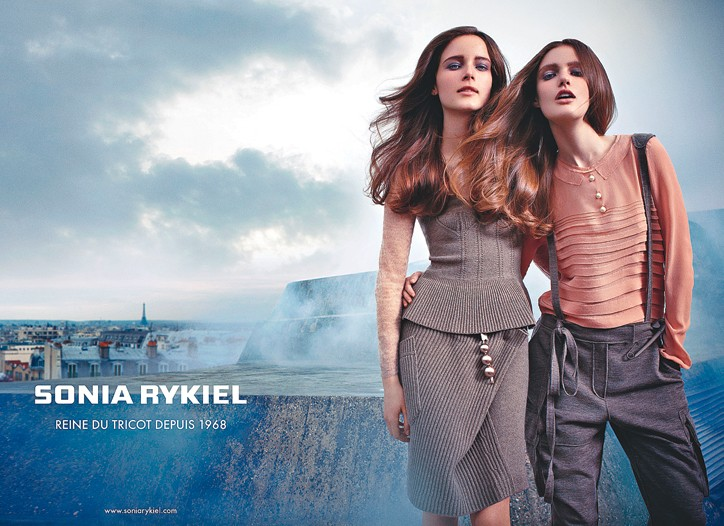 Sonia Rykiel fall advertising campaign.