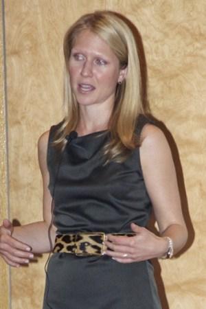 Polyvore director Katherine McClymonds
