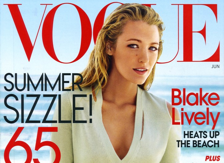Cover of the June 2010 issue of Vogue.