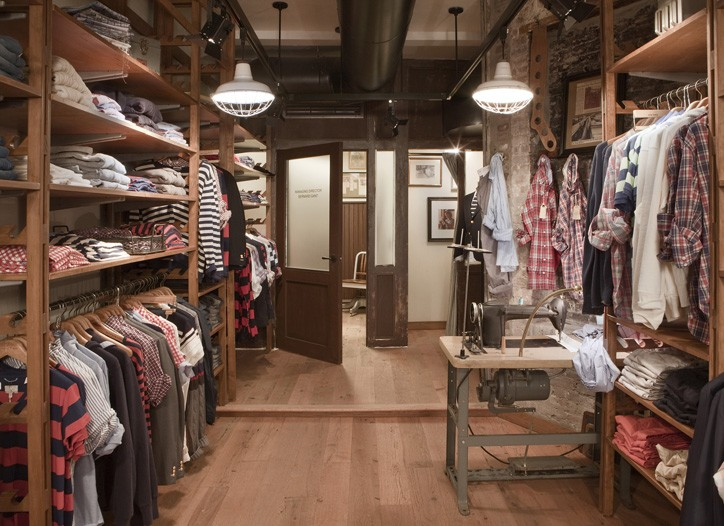 Gant Rugger's new Bleecker Street store.