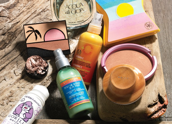 Sunny Delights - Get warm-weather ready from head to toe with these nutrient-infused, beach-inspired offerings.