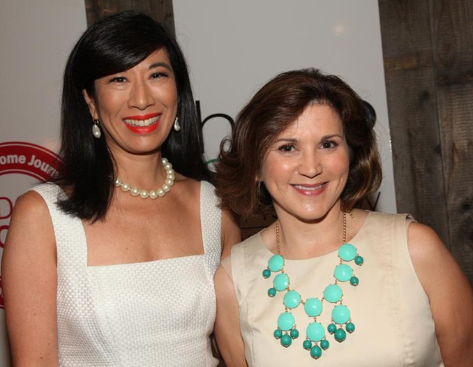 Andrea Jung and Sally Lee.