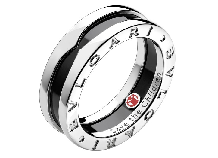 The Bulgari ring for Save the Children.