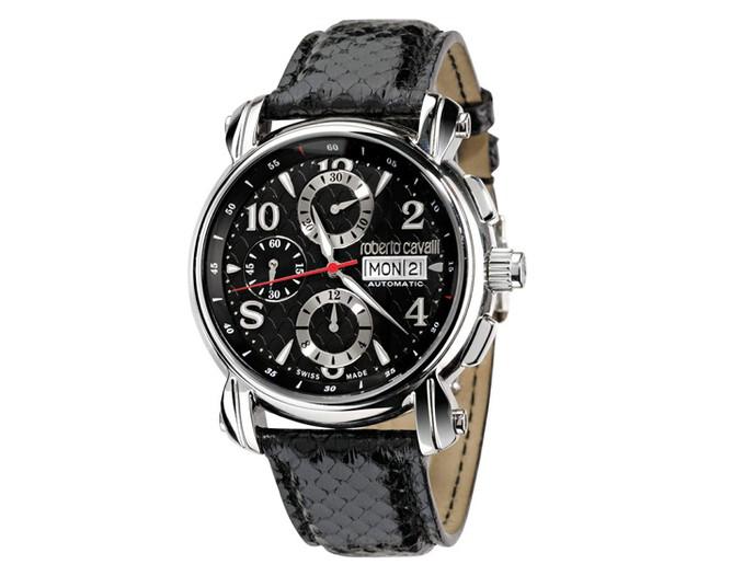Roberto Cavalli limited edition watch.