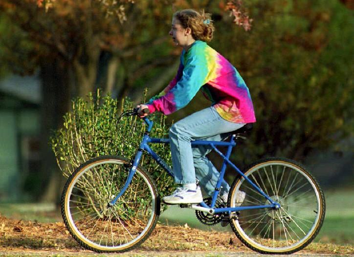 Chelsea Clinton in November 1992.