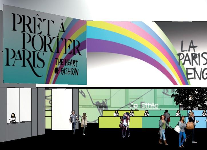 """Prêt à Porter Paris hopes to inject some optimism with this year's theme, """"La Parisienne Engagée""""."""