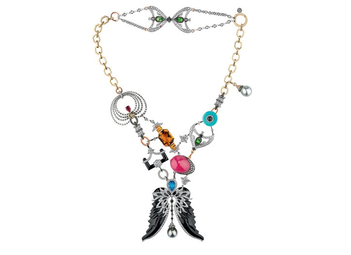 Damiani and John Galliano are partnering to produce jewelry.