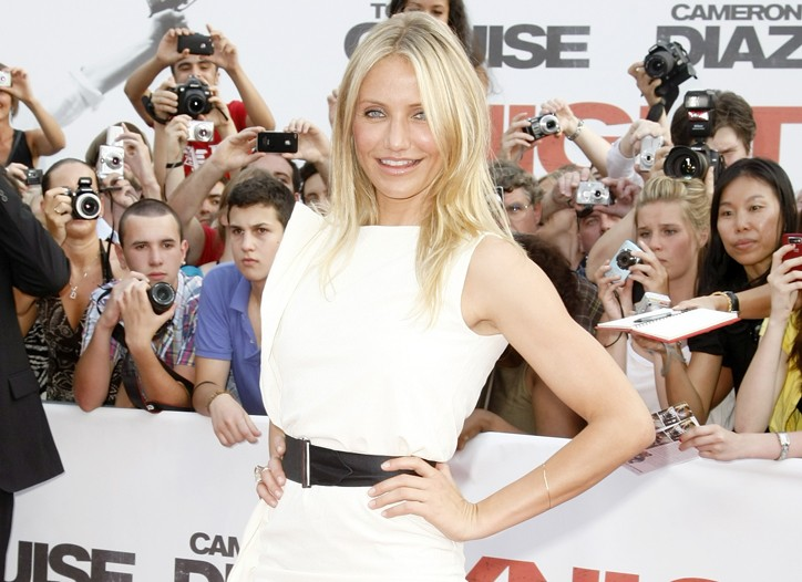 Cameron Diaz in Bottega Veneta