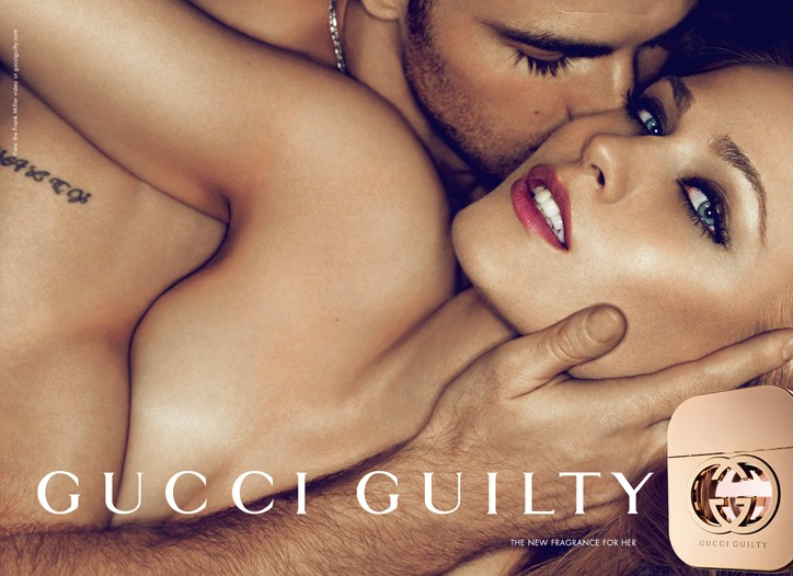 An image from the Gucci Guilty ad campaign.