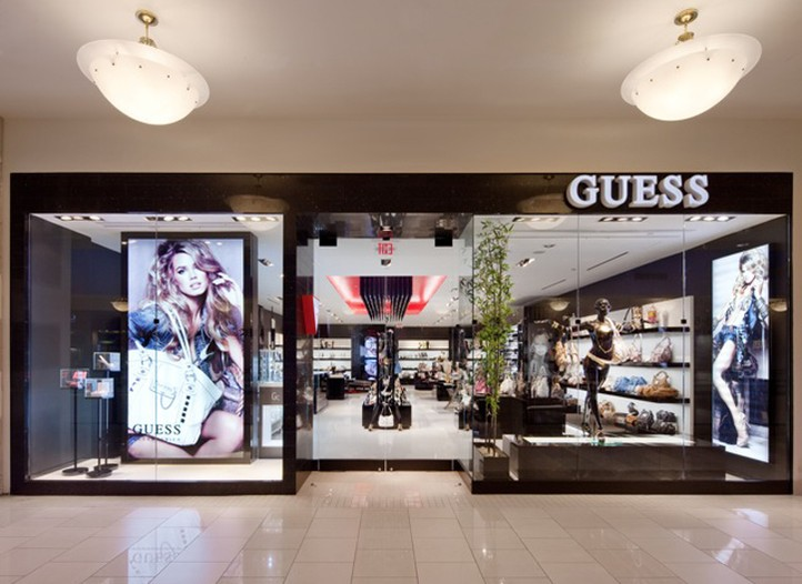 Guess has given its denim stores a new look.