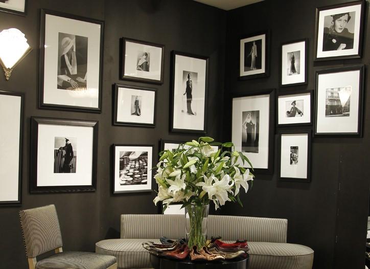 Inside Lanvin's Madison Avenue flagship.