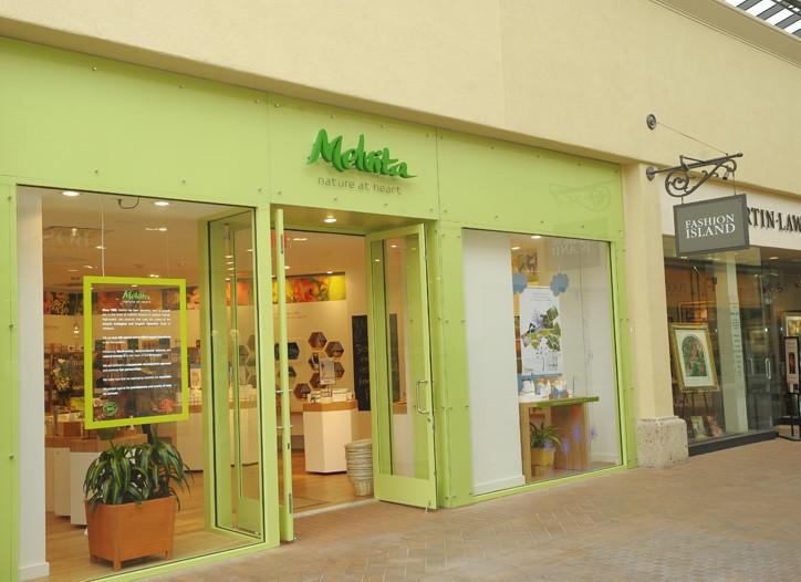 The Melvita store at Fashion Island in Newport Beach, Calif.