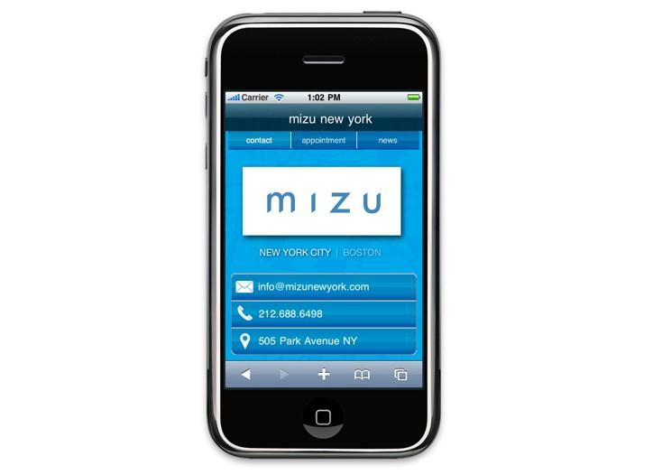 Mizu's app.
