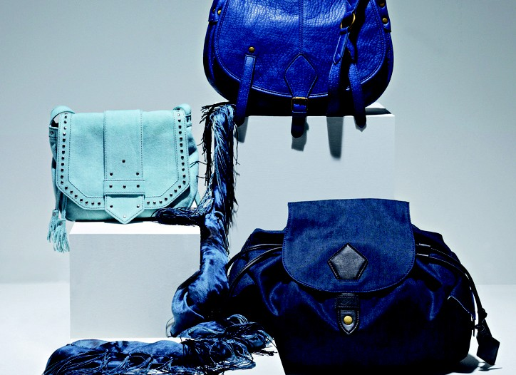 A selection of bags from the Monoprix bag line by Atelier du Sartel.