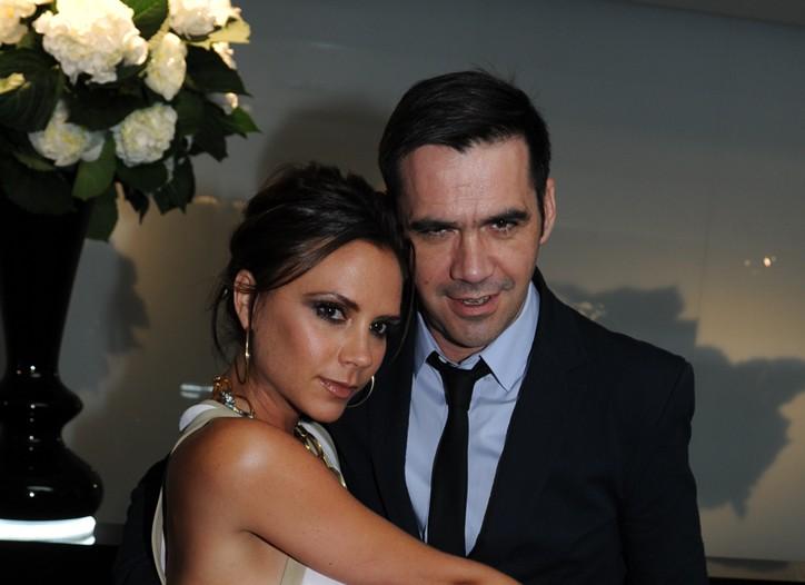 Victoria Beckham and Roland Mouret