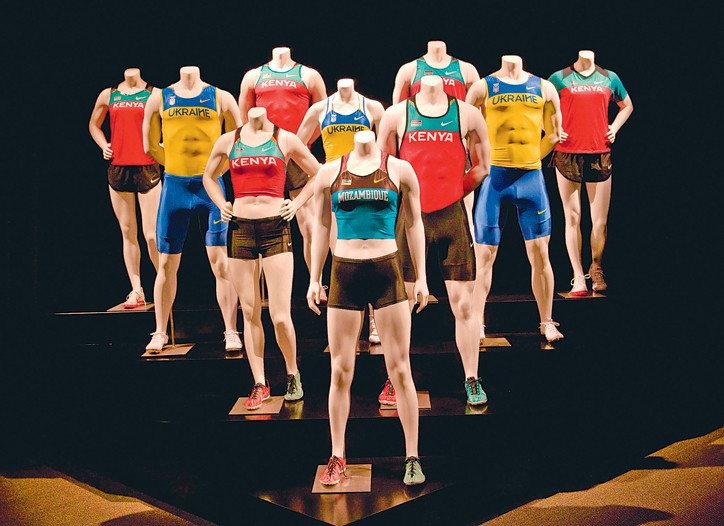 Tefron-made athleticwear for Nike.