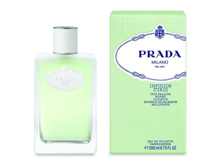 Prada's Infusion d'Iris Eau de Toilette.