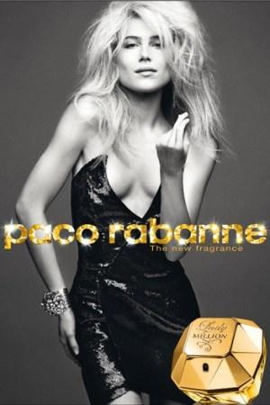 Paco Rabanne print ad.