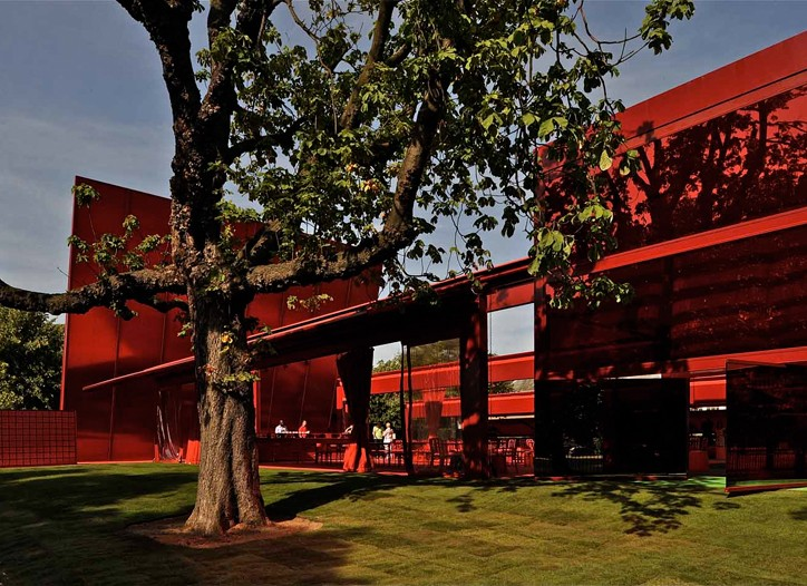 The Serpentine Gallery's summer pavilion by Jean Nouvel.