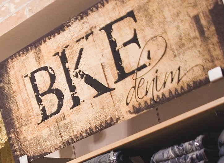 The Buckle saw income rise 12.2 percent in the second quarter.