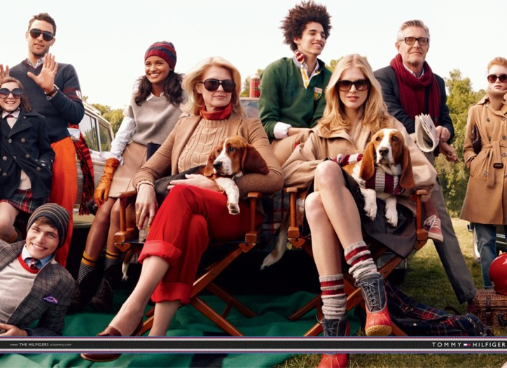 """An image from Tommy Hilfiger's new fall campaign, """"Introducing the Hilfigers"""", shot by Craig McDean."""