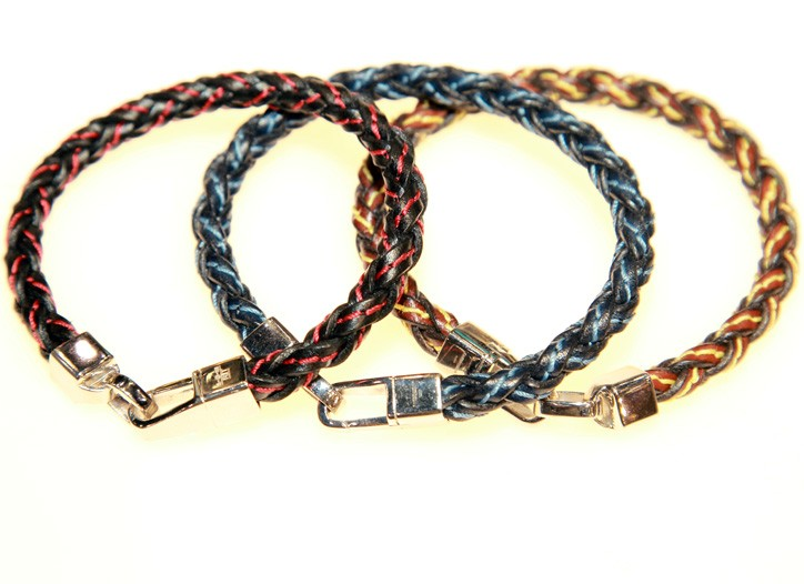 Bracelets. Here, bracelets by Tateossian.