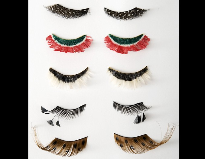 A selection of lashes from Urban Outfitters.
