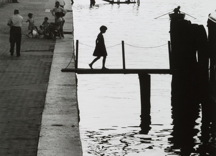 """Willy Ronis' """"Fondamente Nuove, Venice"""" from 1959."""
