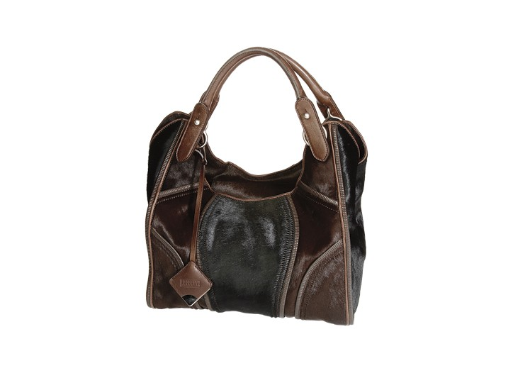 DIY handbag lovers can customize their own totes with more than 50 pairings of colors and materials, including pony and suede, from Fratelli Rossetti.
