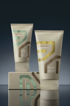 Aveda's new shaving products.