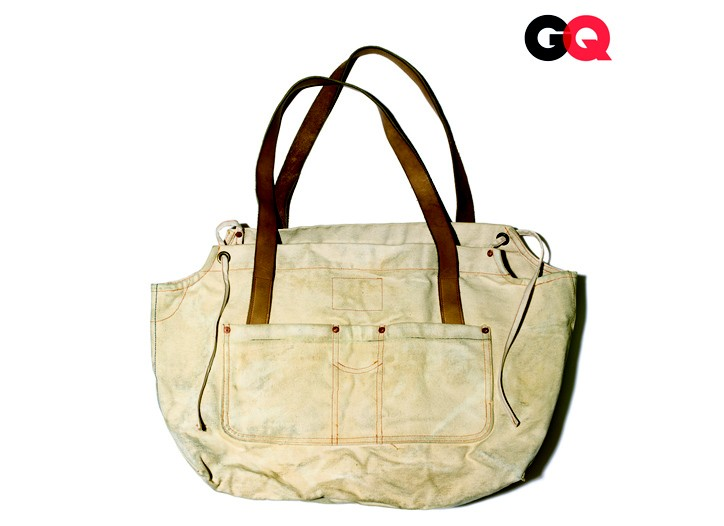 A tote from Levi's Workwear by Billy Reid.