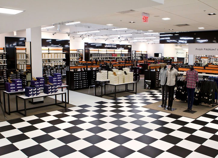 Inside Bloomingdale's first fashion outlet in the Potomac Mills.