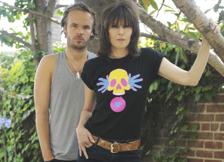 JP Jones and Chrissie Hynde