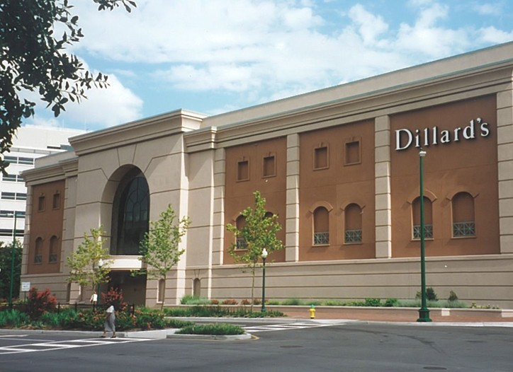 Dillard's posted net income of $6.8 million in the second quarter.