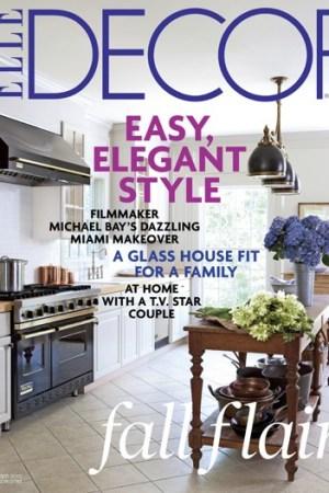 Cover of Elle Decor.