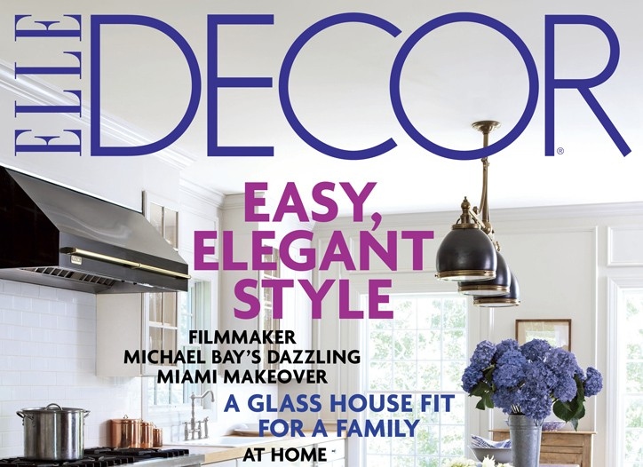 Cover of Elle Decor.
