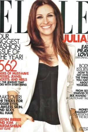 A recent Elle cover.